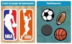 juego deportes